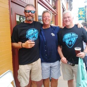 Paddy, John and Dan Adams